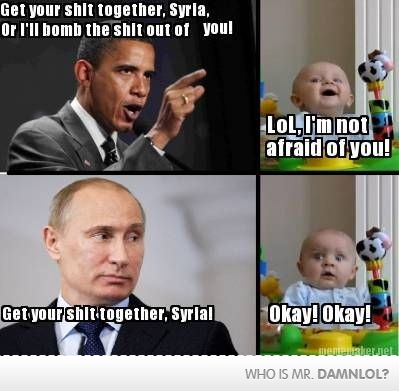 Get Your Sh!t Together, Syria!