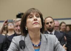 FILE - This May 22, 2013 file photo shows Internal Revenue Service (IRS) official Lois Lerner on Capitol Hill in Washington. (AP Photo/J. Scott Applewhite, File)