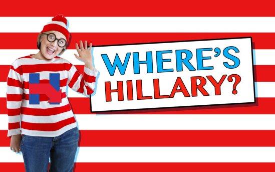 Wheres hillary